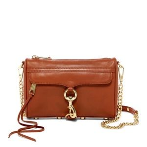 NWT Rebecca Minkoff Mini Mac Crossbody Almond